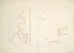 Portolan Chart Showing Outline of British Isles f. 7